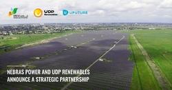 Nebras Power and UDP Renewables announce a strategic partnership