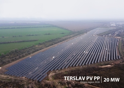 "UDP Renewables put into operation SPP ""Terslav"" with a capacity of 20 MW"