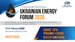 Discount on participation in the 11th International Ukrainian Energy Forum